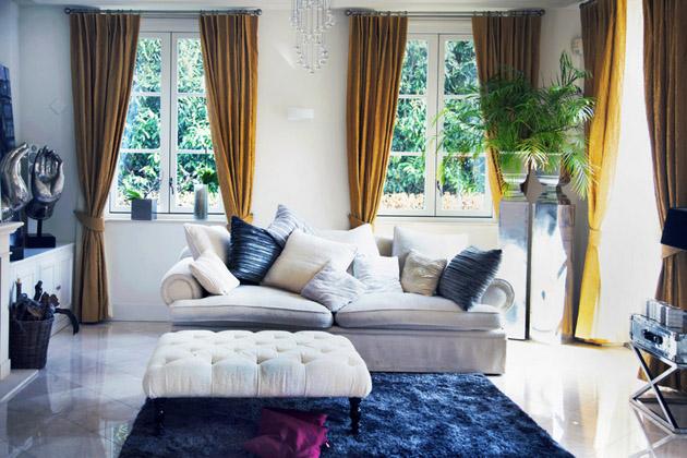 Sofa kiểu dáng và phong cách đương đại