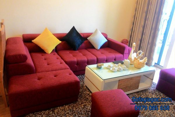 Sofa Nỉ Đẹp - Mã GG 002