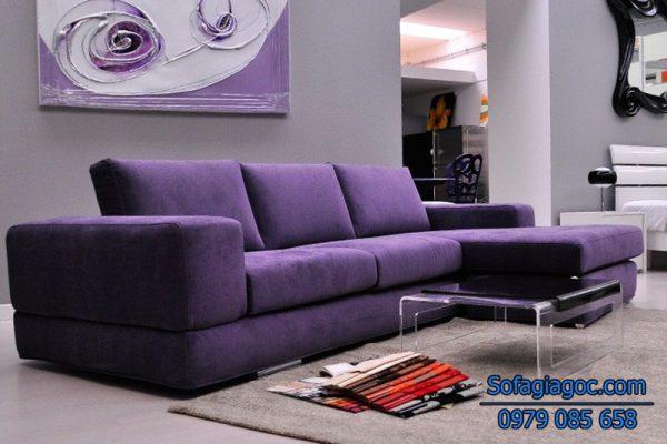 Sofa Nỉ Đẹp - Mã GGN 005