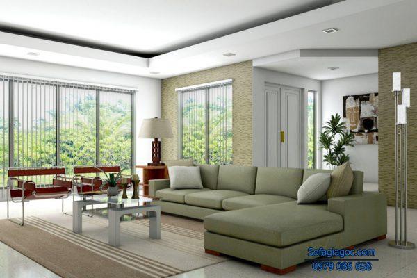 Sofa Nỉ Đẹp Mã GGN 001