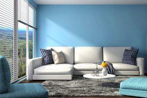 Bảo về bộ sofa da của bạn khỏi ánh sáng mặt trời chiều trực tiếp vào ghế