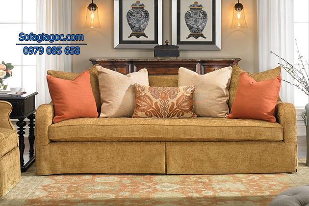 Kích thước và kiểu dáng sofa phù hợp với phòng khách