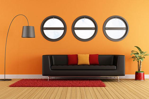 Trang trí không gian sống với Sofa Đen