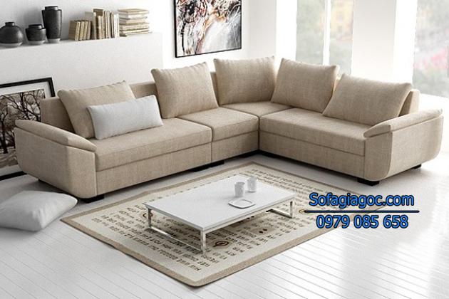 Chọn ghế sofa phù hợp với phòng khách sẽ giúp tiết kiệm không gian