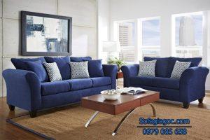 Kiểu dáng sofa phù hợp với không gian sẽ làm cho căn phòng vốn bé nhỏ trở lên rộng và đẹp hơn