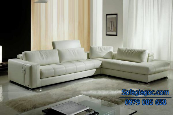 Sofa Da Đẹp – Mã GGD 109