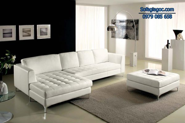 Sofa Da Đẹp Mã GG 113