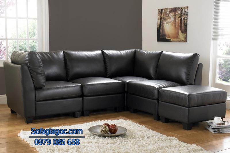 Sofa Da Đẹp – Mã GGD 106