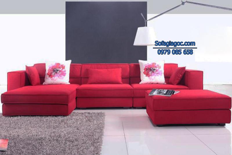 Sofa Nỉ Đẹp - Mã GGN 006