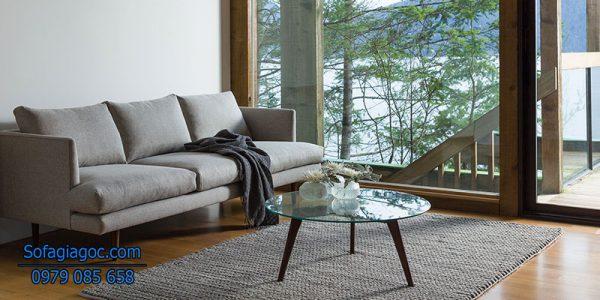 Sofa Phòng Khách Style Burrard Xám Tro