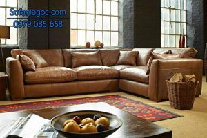 Sofa góc phòng khách dễ lau chùi và vệ sinh khi cần thiết