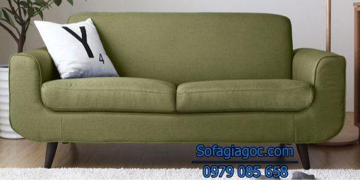 Sofa Văng Rafael Style Xanh Nõn Chuối