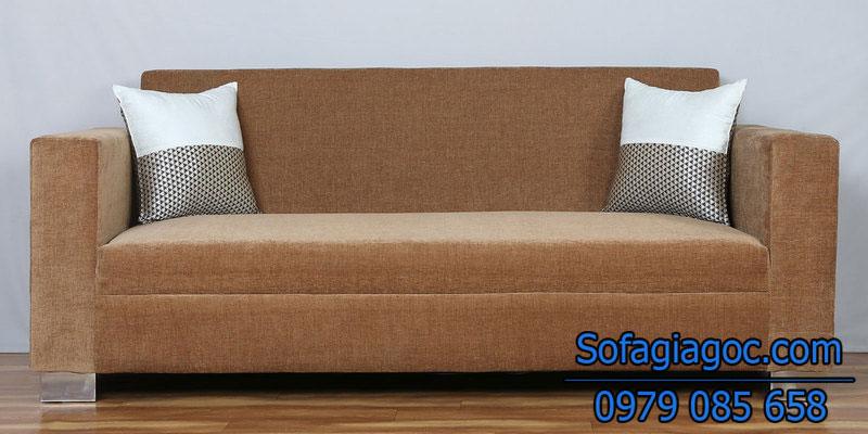Sofa Văng Style Aalias Nâu Be