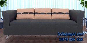 Sofa Văng Style Adelia Xám Đen