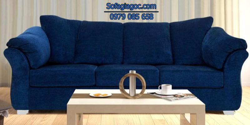 Sofa Văng Style Carina Xanh Lam
