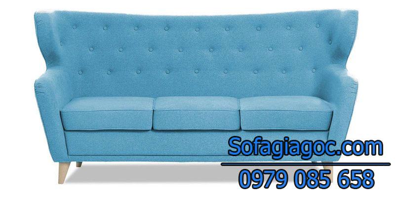 Sofa Văng Style Malton Xanh Ngọc