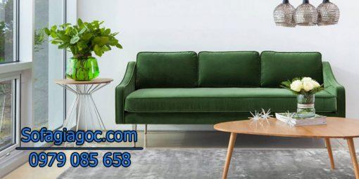 Sofa Văng Style Mirage Xanh Lục