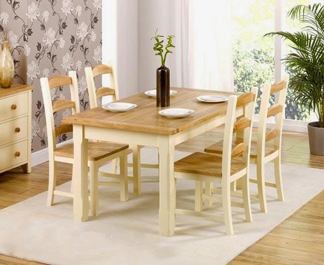 Mẫu bàn ăn đơn giản mà đẹp 2