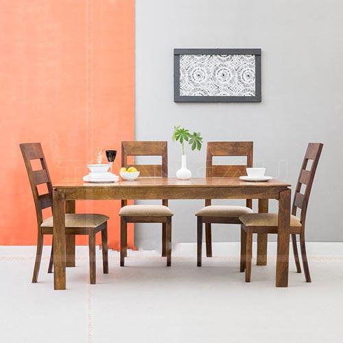 Mẫu bàn ăn đẹp hiện đại 4 ghế