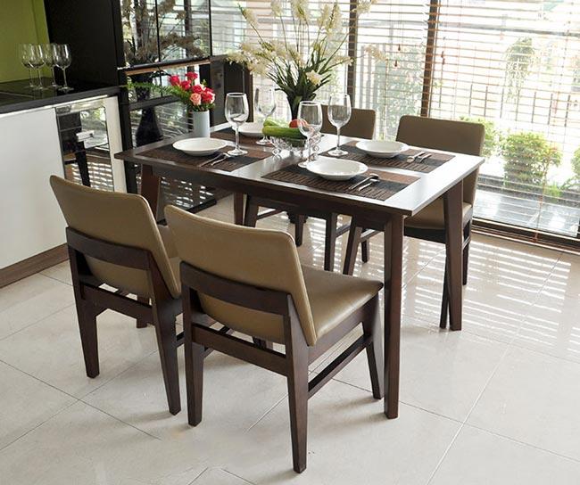 Mẫu bàn ăn đẹp hiện đại
