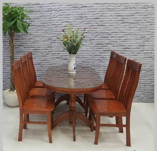 Mẫu bàn ăn gỗ tự nhiên 2