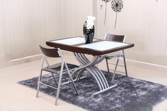 Mẫu bàn ăn kết hợp bàn tiếp khách