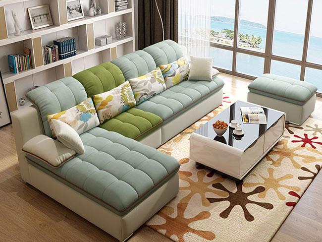 Chọn Chất Liệu Sofa Nỉ Cao Cấp
