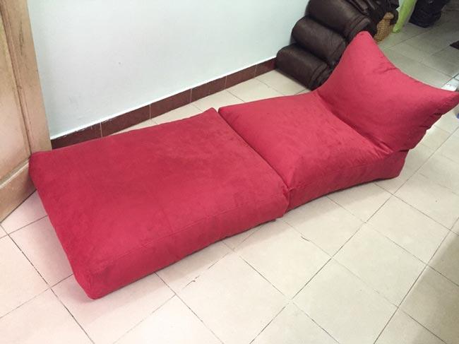Ghế lười sofa hạt xốp
