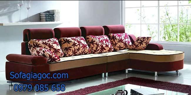 Ghế sofa nỉ mã GGN 008