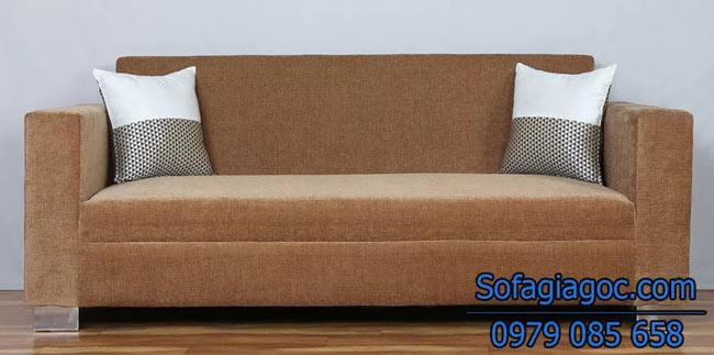 Ghế sofa văng Style Aalias màu nâu Be