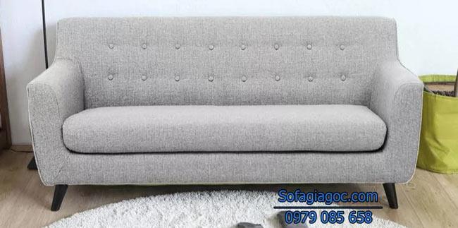 Ghế sofa văng Style Carlito Xám