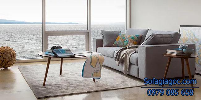 Ghế sofa văng Style Sitka Xám