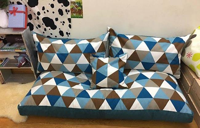 Ghế thư giãn sofa lười hạt xốp