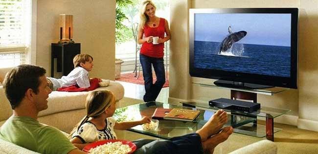 Khoảng cách xem tivi phù hợp