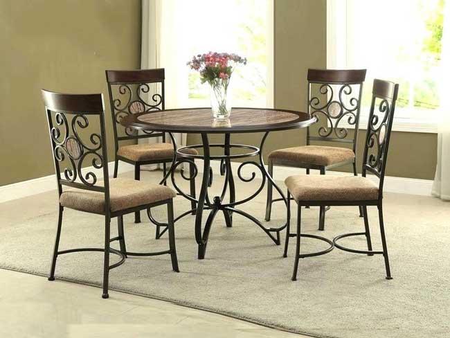 Lựa chất liệu bàn ghế ăn