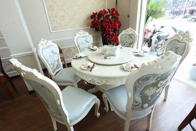 Lựa chọn bàn ăn phù hợp với phong cách thiết kế