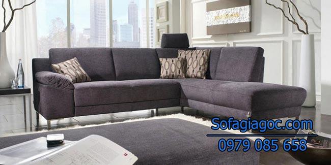 Mẫu Sofa Vải nỉ