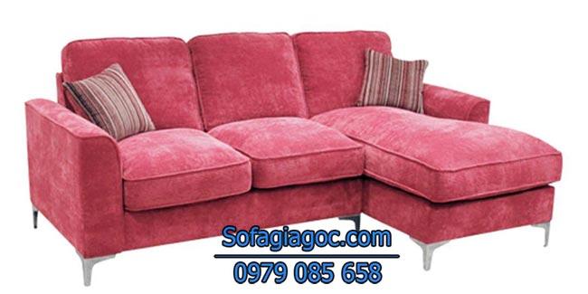 Mẫu Sofa góc chữ L Mã GL-109