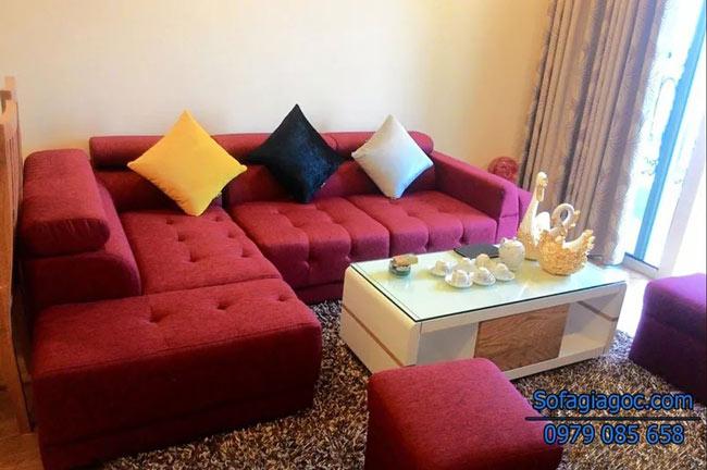 Sofa Nỉ Đẹp – Mã Ggn 002