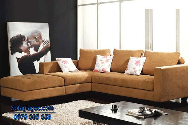 Sofa Nỉ Đẹp – Mã Ggn 004