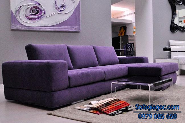 Sofa Nỉ Đẹp – Mã Ggn 005