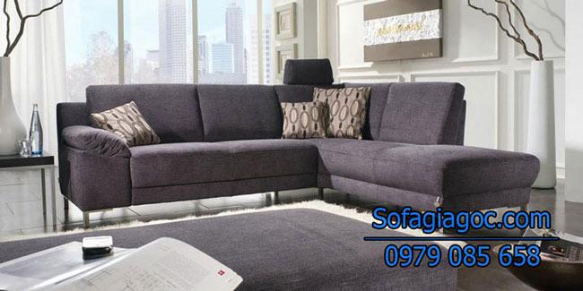 Sofa Nỉ Đẹp – Mã Ggn 007