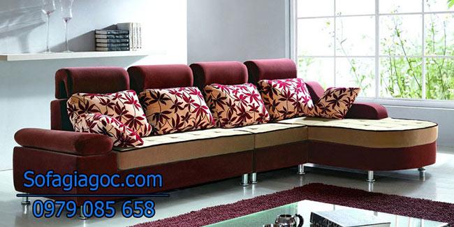 Sofa Nỉ Đẹp – Mã Ggn 008