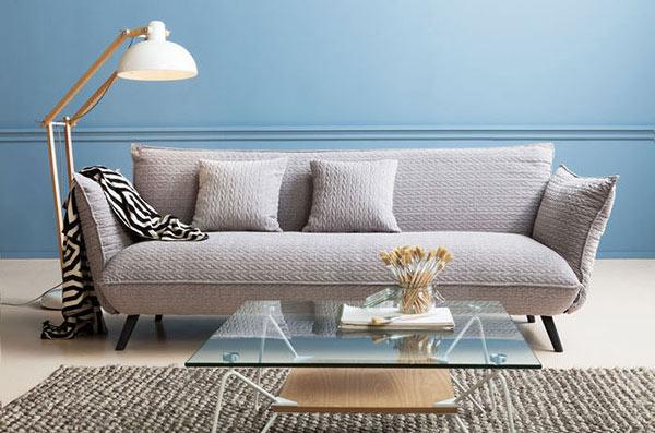 Sofa Nỉ Hiện đại Molly 3 Seater