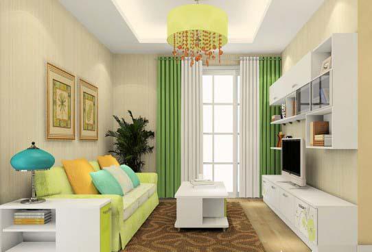 Thiết kế nội thất sử dụng đa màu sắc