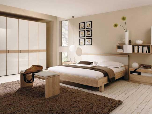 Thiết kế phòng ngủ masterkiểu khối hộp