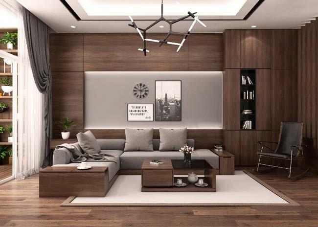 Xu hướng sử dụng chất liệu nội thất bằng Gỗ
