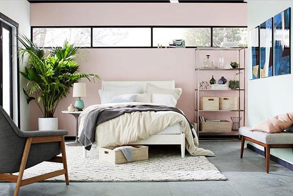 Trang trí phòng ngủ có cây xanh đẹp và tràn đầy sức sống