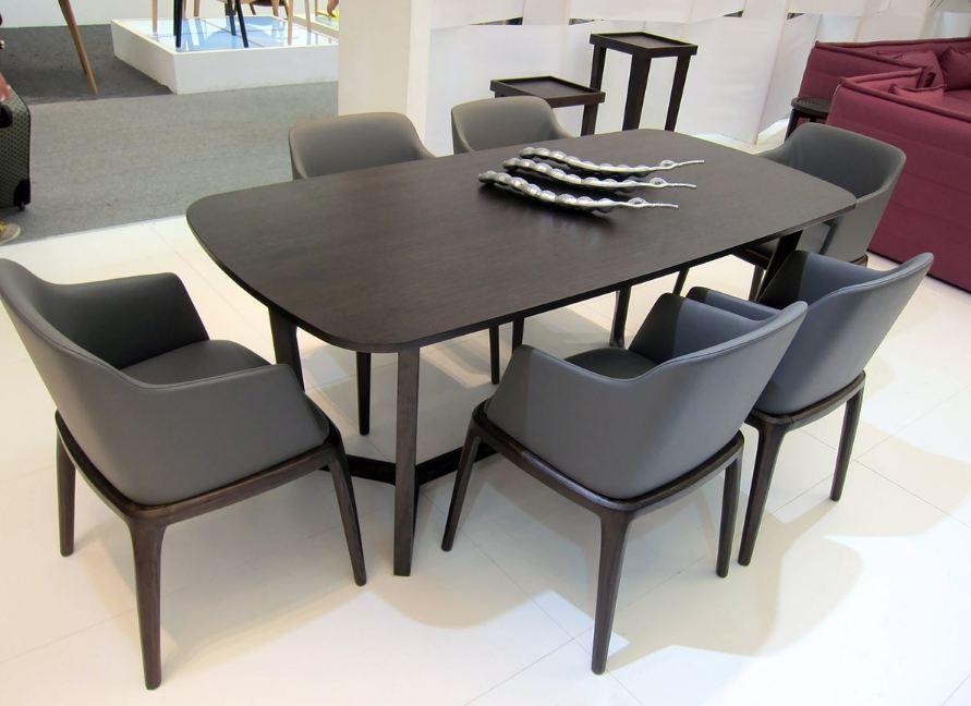 Lựa chọn hình dáng bàn ăn sao cho phù hợp với tổng thể không gian