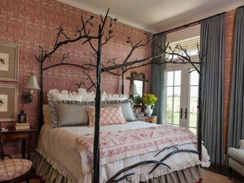 Phòng ngủ mang phong cách vintage